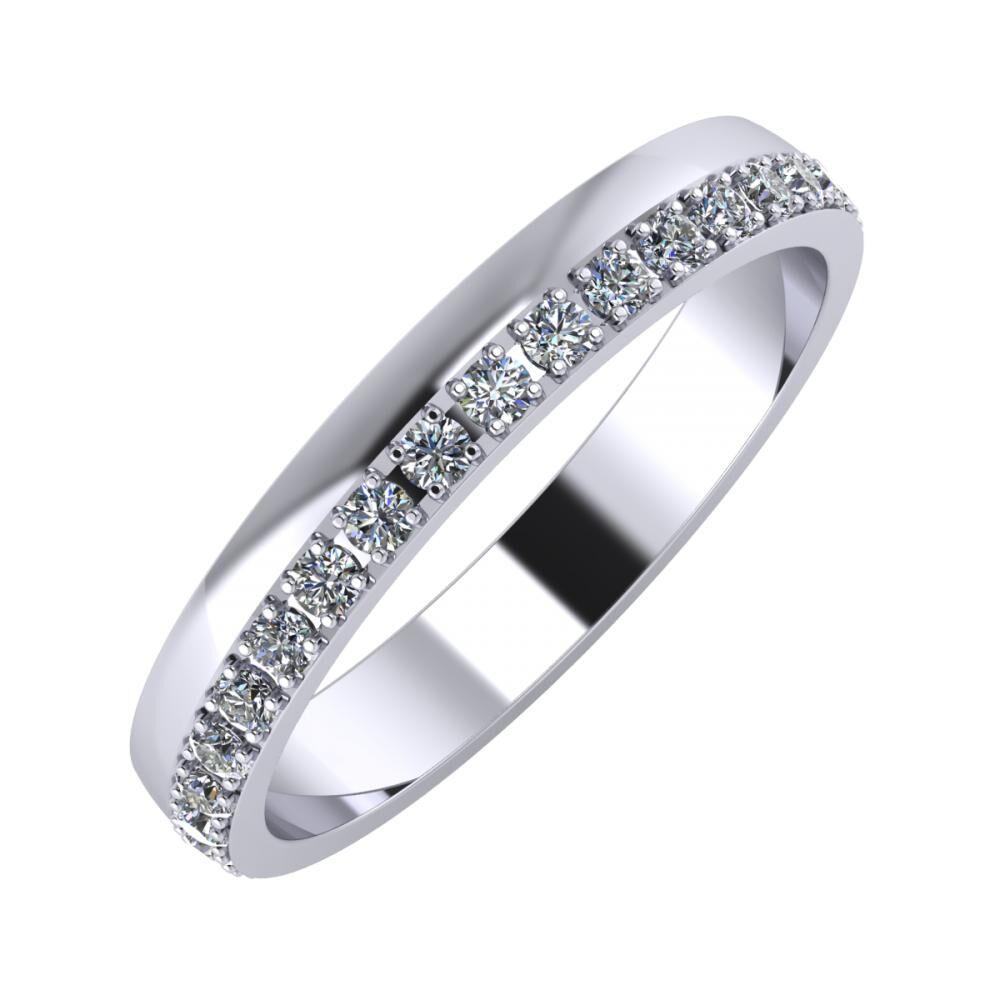 Ama 3mm platina karikagyűrű