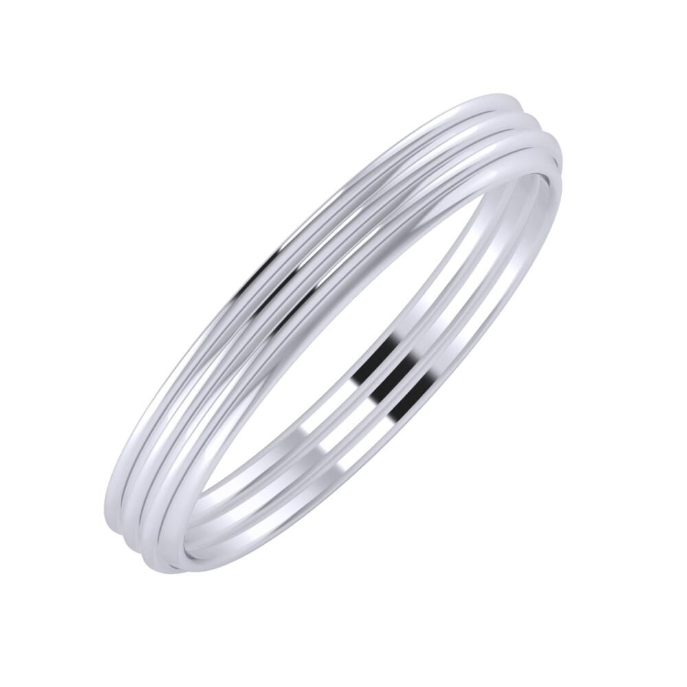 Agrippína - Agrippína - Agrippína 3mm platina karikagyűrű
