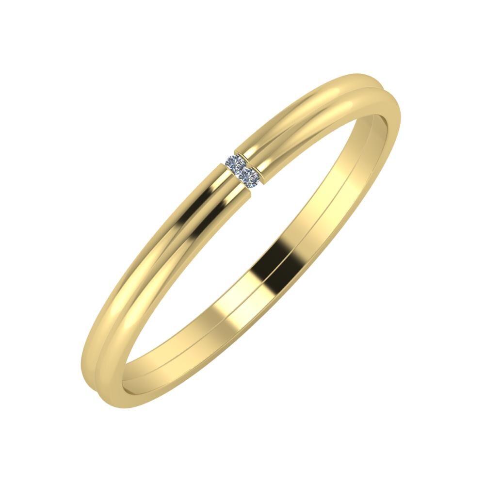 Adalind - Adalind 2mm 14 karátos sárga arany karikagyűrű