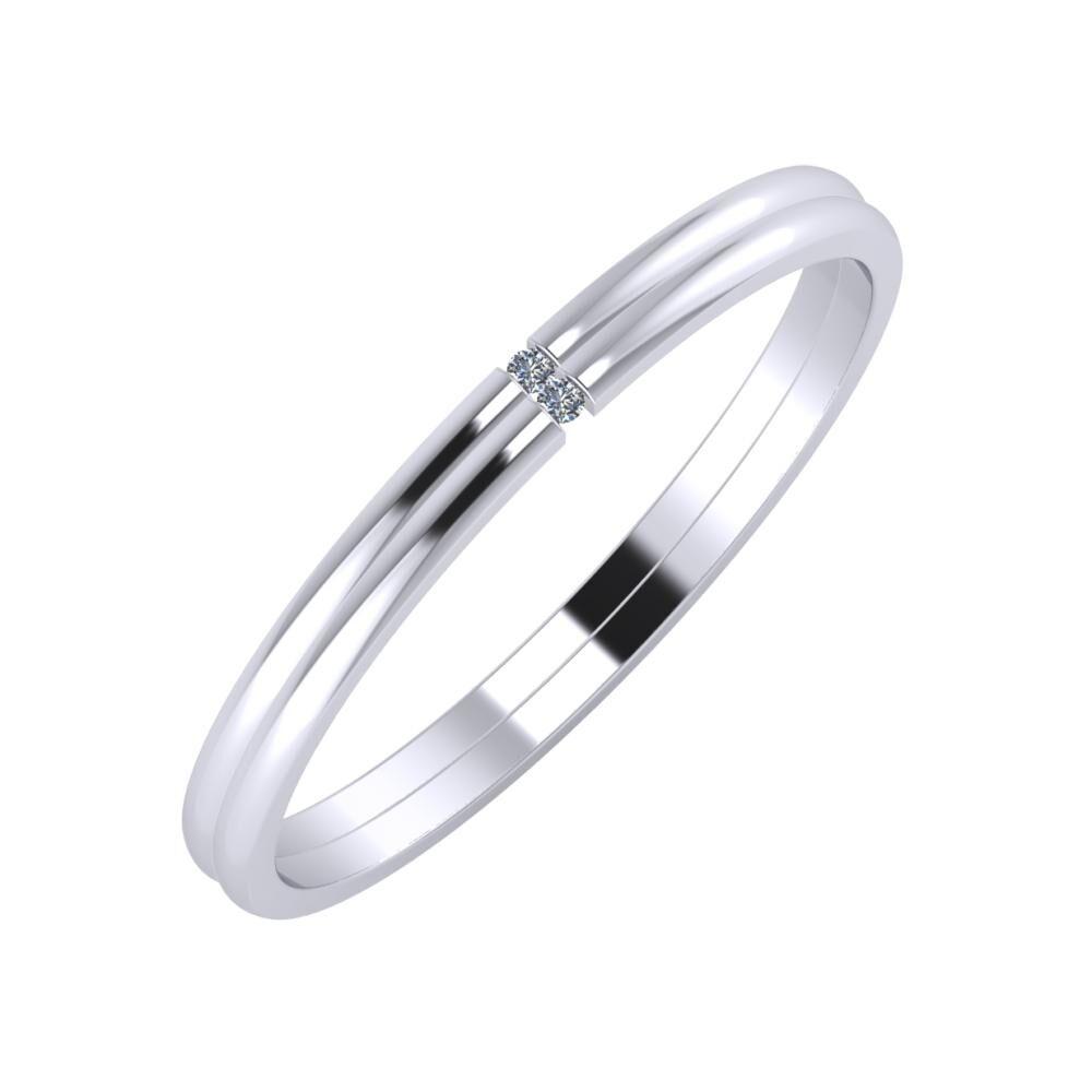 Adalind - Adalind 2mm platina karikagyűrű