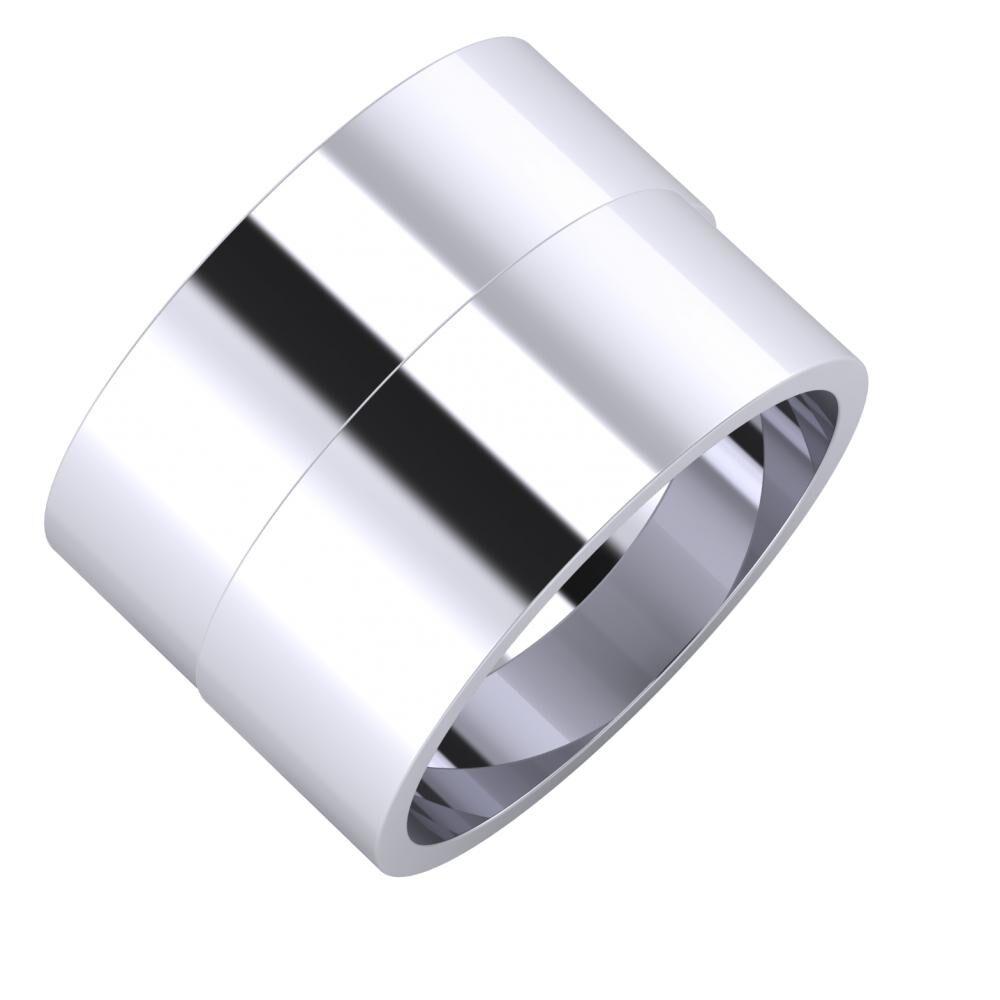 Adela - Adela 14mm platina karikagyűrű