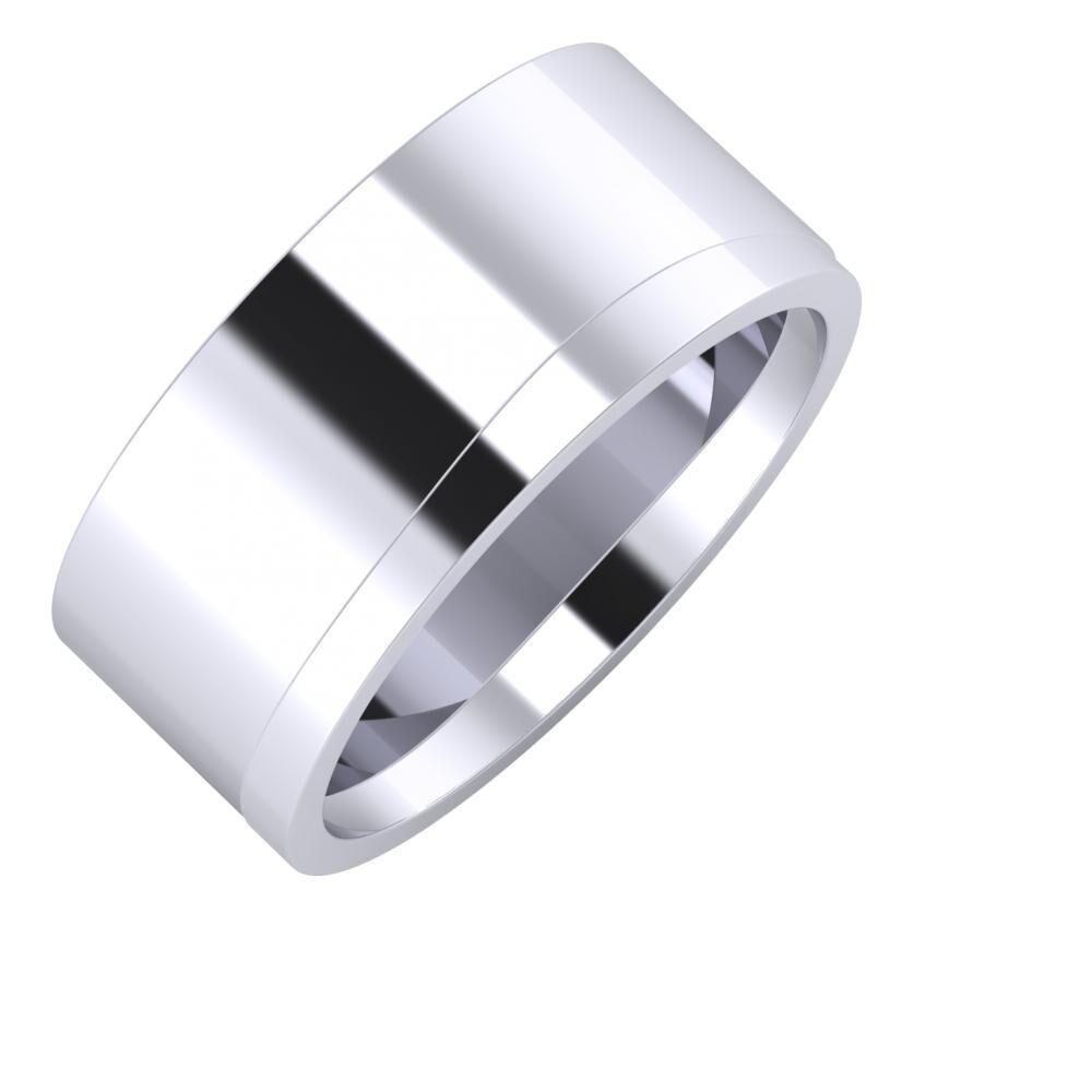 Adela - Adria 9mm platina karikagyűrű
