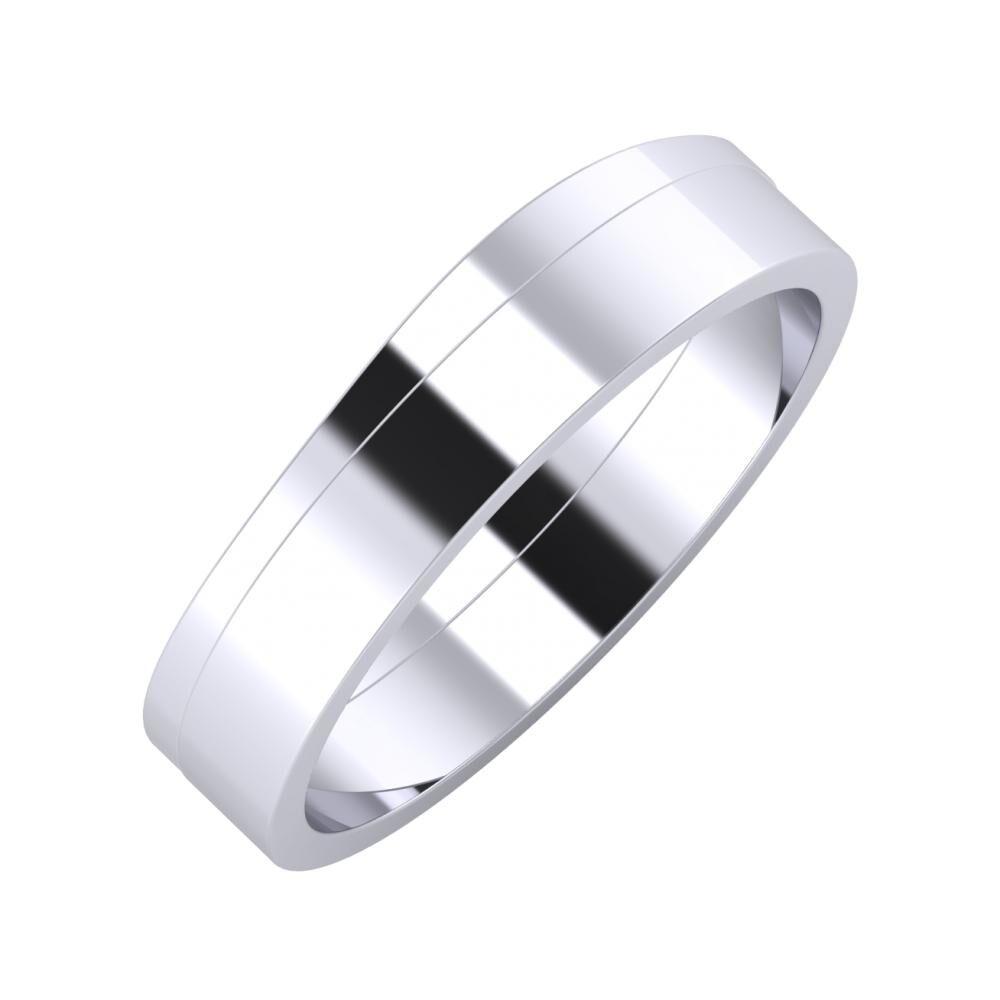 Adria - Adela 5mm platina karikagyűrű