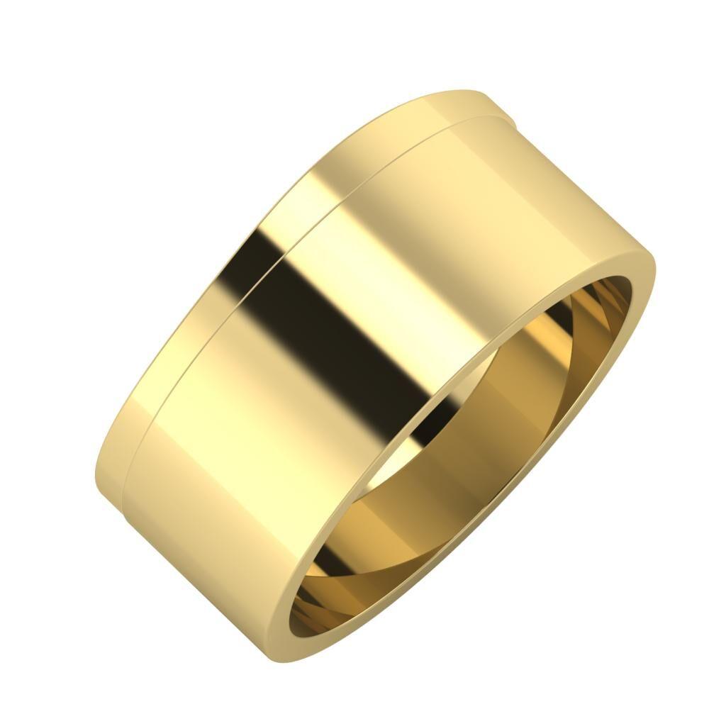 Adria - Adela 9mm 14 karátos sárga arany karikagyűrű