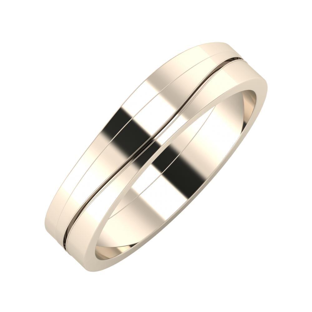Adria - Adelinda 5mm 22 karátos rosé arany karikagyűrű