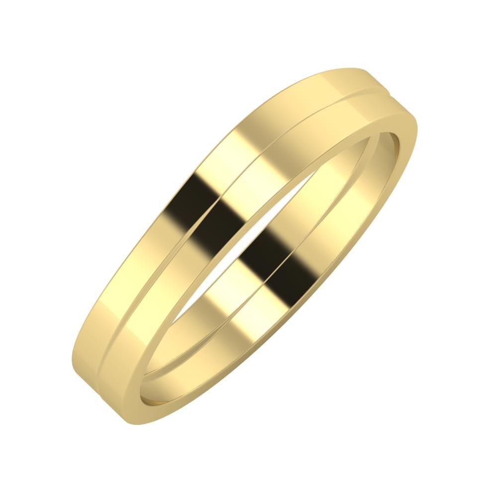 Adria - Adria 4mm 14 karátos sárga arany karikagyűrű