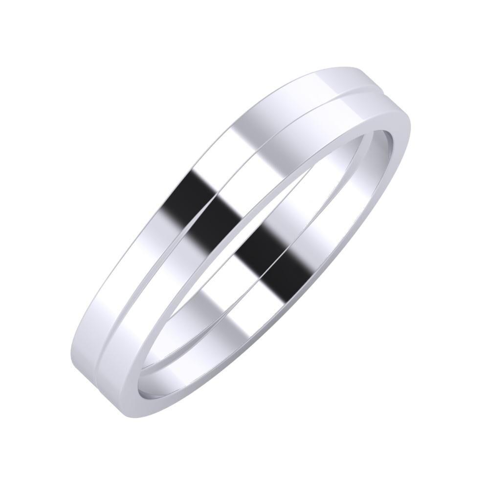 Adria - Adria 4mm platina karikagyűrű