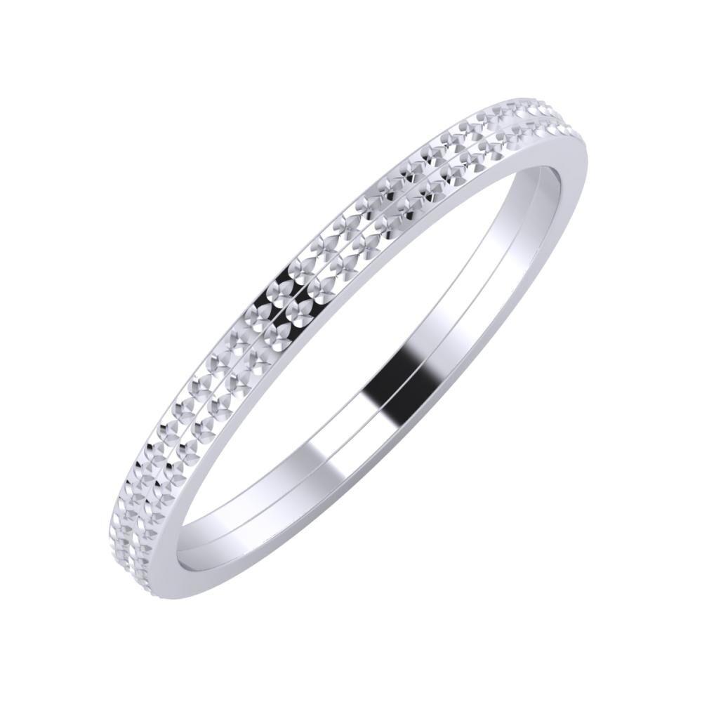 Ági - Ági 2mm platina karikagyűrű
