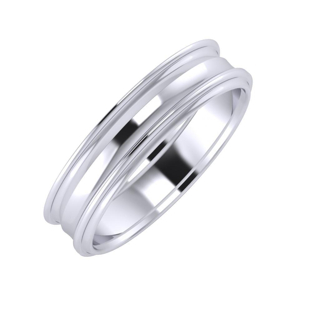 Agrippína - Ainó - Agrippína 5mm platina karikagyűrű