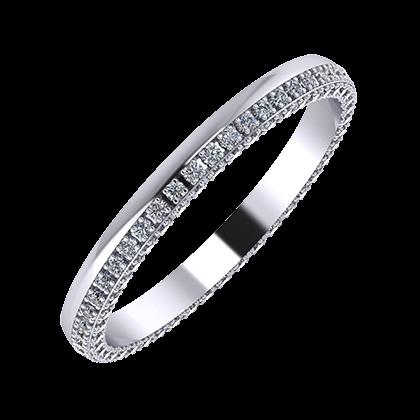 Aloma 2mm platina karikagyűrű